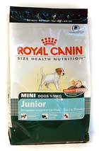 Royal Canin Mini Junior 1кг для щенков мелких собак