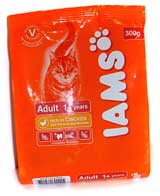 Iams Adult for Cats 1,5kg кура