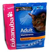 Eukanuba Adult for Cats 0,4kg кура-печень (4)